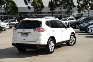 2014 Nissan X-Trail T32 ST-L White Constant Variable SUV.