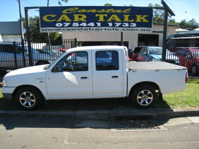 Used Ford Courier PG GL Nambour, 2004 Ford Courier PG GL White 4 Speed Automatic Crew Cab Pickup