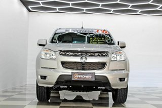 2015 Holden Colorado RG MY16 LS (4x2) Silver 6 Speed Automatic Crew Cab Pickup