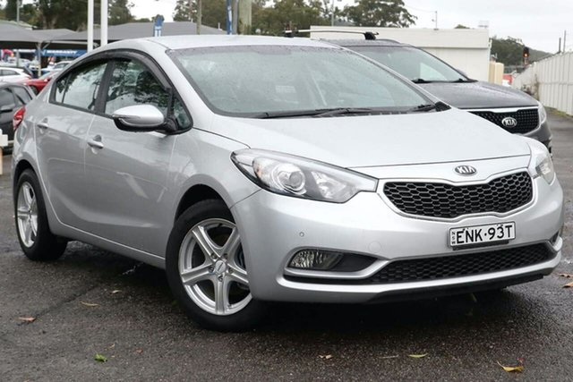 Used Kia Cerato YD MY15 S North Gosford, 2015 Kia Cerato YD MY15 S Silver 6 Speed Sports Automatic Sedan