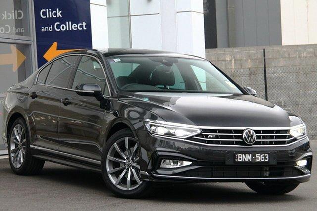 Demo Volkswagen Passat 3C (B8) MY21 162TSI DSG Elegance Port Melbourne, 2021 Volkswagen Passat 3C (B8) MY21 162TSI DSG Elegance Grey 6 Speed Sports Automatic Dual Clutch