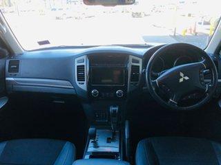 2016 Mitsubishi Pajero NX MY17 GLS White 5 Speed Sports Automatic Wagon