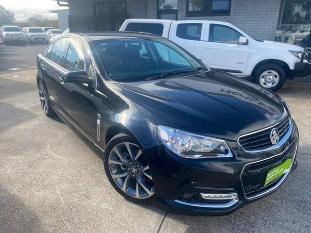 Used Holden Commodore VF MY15 SS V Hillcrest, 2015 Holden Commodore VF MY15 SS V Black 6 Speed Sports Automatic Sedan
