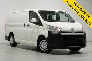 2019 Toyota HiAce GRH300R LWB White 6 Speed Automatic Van.