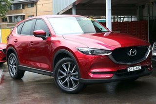 2018 Mazda CX-5 KF4WLA GT SKYACTIV-Drive i-ACTIV AWD Red 6 Speed Sports Automatic Wagon.