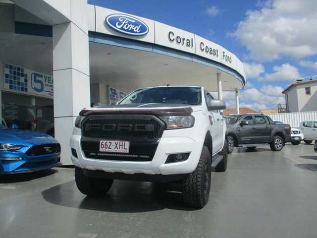 Used Ford Ranger PX MkII MY17 Update XLS 3.2 (4x4) Bundaberg, 2017 Ford Ranger PX MkII MY17 Update XLS 3.2 (4x4) White 6 Speed Automatic Double Cab Pick Up