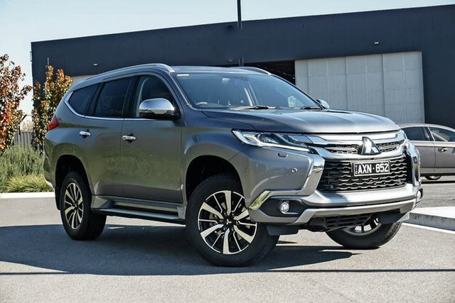 Used Mitsubishi Pajero Sport QE MY16 Exceed Essendon Fields, 2016 Mitsubishi Pajero Sport QE MY16 Exceed Grey 8 Speed Sports Automatic Wagon
