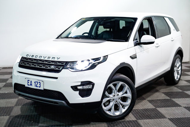 Used Land Rover Discovery Sport L550 16.5MY SE Edgewater, 2016 Land Rover Discovery Sport L550 16.5MY SE White 9 Speed Sports Automatic Wagon