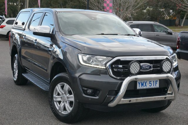 Used Ford Ranger PX MkIII 2019.00MY XLT Hi-Rider Phillip, 2018 Ford Ranger PX MkIII 2019.00MY XLT Hi-Rider Grey 10 Speed Sports Automatic Utility