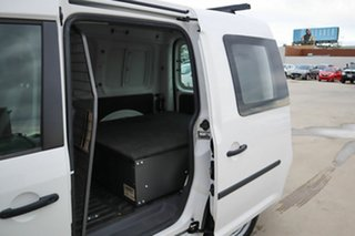 2012 Volkswagen Caddy 2KN MY12 TDI250 SWB DSG White 7 Speed Sports Automatic Dual Clutch Van.