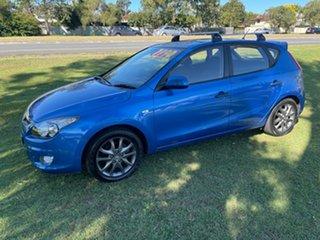 2010 Hyundai i30 FD MY11 Trophy Blue 4 Speed Automatic Hatchback