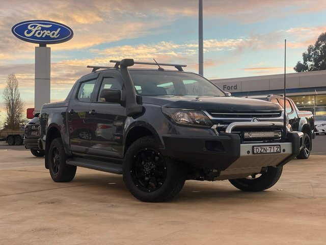Used Holden Colorado LS Goulburn, 2018 Holden Colorado LS Grey Sports Automatic Dual Cab Utility