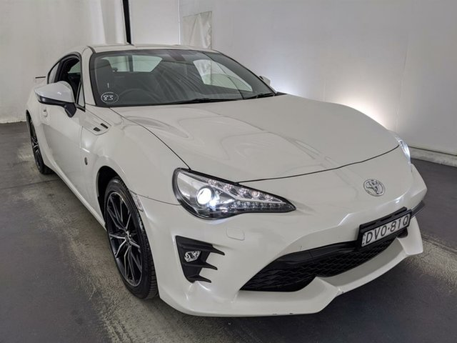 Used Toyota 86 ZN6 GTS Maryville, 2017 Toyota 86 ZN6 GTS White 6 Speed Sports Automatic Coupe