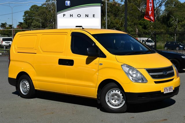 Used Hyundai iLOAD TQ Underwood, 2010 Hyundai iLOAD TQ Yellow 5 Speed Manual Van