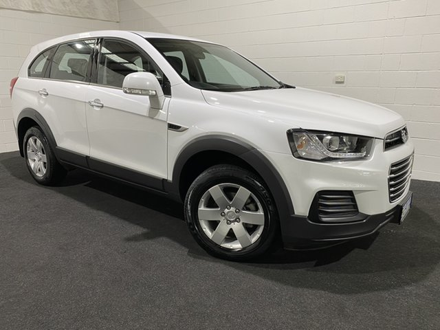 Used Holden Captiva CG MY17 LS 2WD Glenorchy, 2016 Holden Captiva CG MY17 LS 2WD Summit White 6 Speed Sports Automatic Wagon
