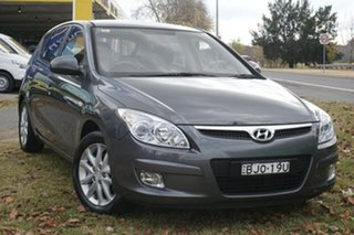 2009 Hyundai i30 FD MY09 SX Grey 4 Speed Automatic Hatchback.