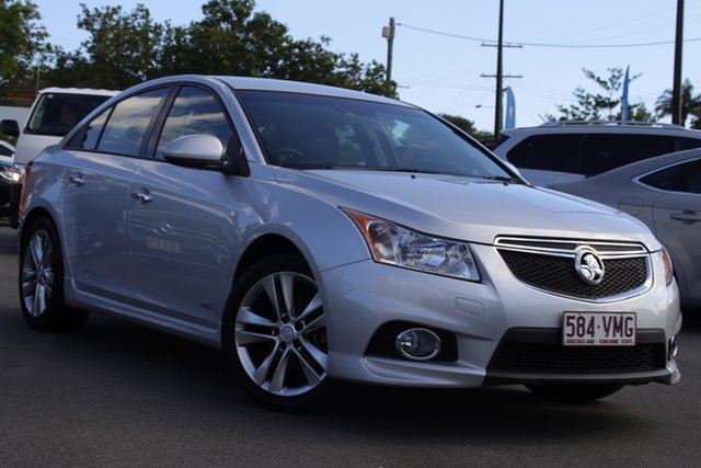 Used Holden Cruze JH Series II MY14 SRi Z Series Mount Gravatt, 2014 Holden Cruze JH Series II MY14 SRi Z Series Silver 6 Speed Sports Automatic Hatchback