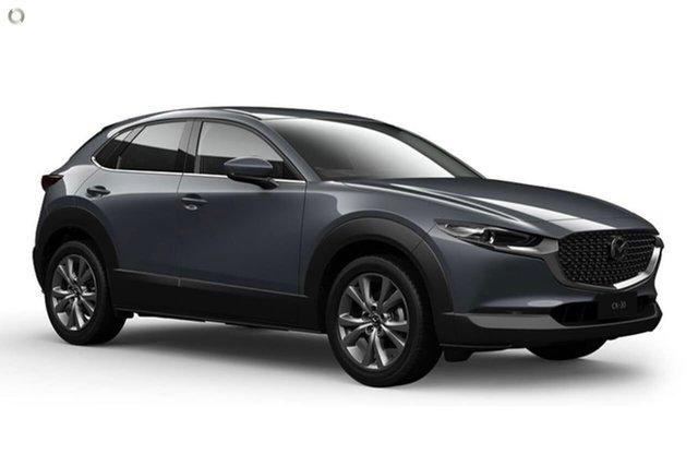 Demo Mazda CX-30 DM2W7A G20 SKYACTIV-Drive Touring Waitara, 2021 Mazda CX-30 DM2W7A G20 SKYACTIV-Drive Touring Grey 6 Speed Sports Automatic Wagon