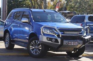 2017 Holden Trailblazer RG MY18 LTZ Power Blue/leather 6 Speed Sports Automatic Wagon.