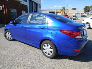 2014 Hyundai Accent RB2 Active Blue 6 Speed Manual Sedan