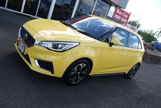 2020 MG MG3 Auto MY20 Excite (with Navigation) Yellow 4 Speed Automatic Hatchback.
