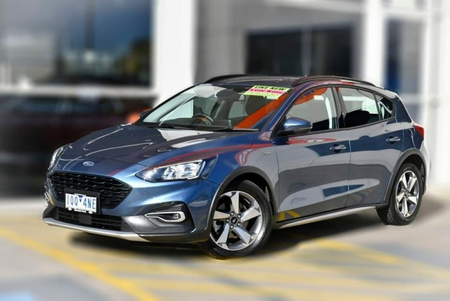 Used Ford Focus SA 2020.25MY Active Berwick, 2019 Ford Focus SA 2020.25MY Active Blue 8 Speed Automatic Hatchback