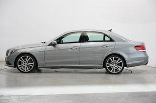 2014 Mercedes-Benz E-Class W212 805MY E400 7G-Tronic + Silver & Chrome 7 Speed Sports Automatic.
