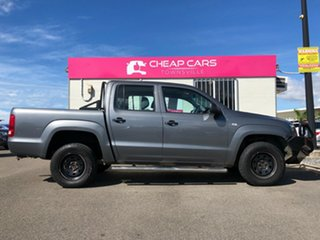 2012 Volkswagen Amarok 2H MY13 TDI400 4Mot Grey 6 Speed Manual Cab Chassis.