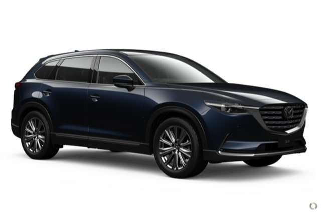 New Mazda CX-9 TC Azami SKYACTIV-Drive i-ACTIV AWD Waitara, 2021 Mazda CX-9 TC Azami SKYACTIV-Drive i-ACTIV AWD Blue 6 Speed Sports Automatic Wagon