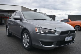 2011 Mitsubishi Lancer CJ MY11 ES Grey 5 Speed Manual Sedan.