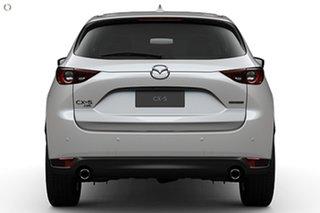 2021 Mazda CX-5 KF4W2A GT SKYACTIV-Drive i-ACTIV AWD White 6 Speed Sports Automatic Wagon