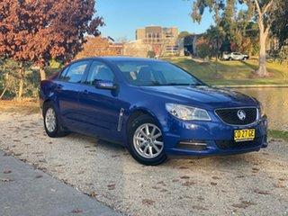 2017 Holden Commodore VF II MY17 Evoke Blue 6 Speed Sports Automatic Sedan.