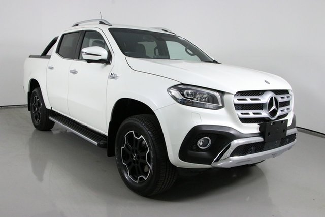 Used Mercedes-Benz X-Class 470 350d Power (4Matic) Bentley, 2019 Mercedes-Benz X-Class 470 350d Power (4Matic) White 7 Speed Automatic Dual Cab Utility