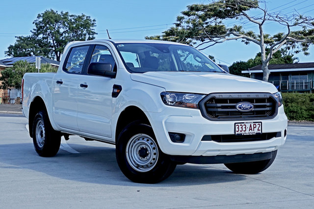 Used Ford Ranger PX MkIII 2021.25MY XL Capalaba, 2020 Ford Ranger PX MkIII 2021.25MY XL White 6 Speed Sports Automatic Double Cab Pick Up