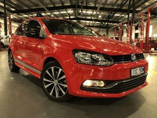 2016 Volkswagen Polo 6R MY17 81TSI DSG Comfortline 7 Speed Sports Automatic Dual Clutch Hatchback.