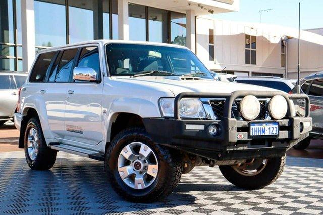 Used Nissan Patrol Y61 GU 8 ST Attadale, 2012 Nissan Patrol Y61 GU 8 ST White 5 Speed Manual Wagon