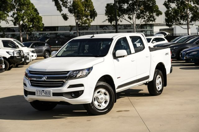 Used Holden Colorado RG MY18 LS Crew Cab Pakenham, 2018 Holden Colorado RG MY18 LS Crew Cab White 6 Speed Sports Automatic Cab Chassis