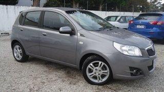 2010 Holden Barina TK MY11 Grey 4 Speed Automatic Hatchback.
