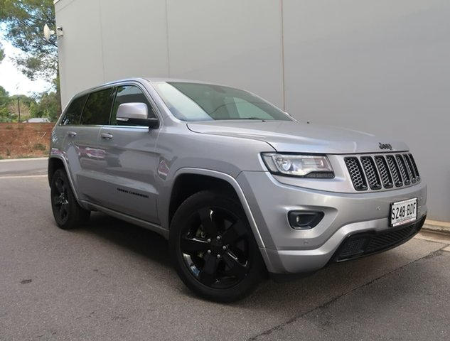 Used Jeep Grand Cherokee WK MY2014 Blackhawk Reynella, 2014 Jeep Grand Cherokee WK MY2014 Blackhawk Grey 8 Speed Sports Automatic Wagon