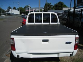 2004 Ford Courier PG GL White 4 Speed Automatic Crew Cab Pickup