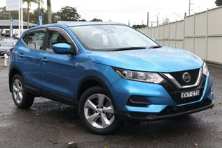 2020 Nissan Qashqai J11 Series 3 MY20 ST+ X-tronic Blue 1 Speed Constant Variable Wagon.