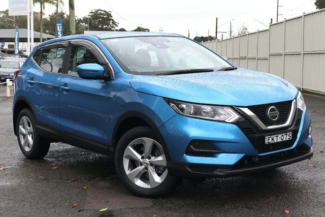 Used Nissan Qashqai J11 Series 3 MY20 ST+ X-tronic North Gosford, 2020 Nissan Qashqai J11 Series 3 MY20 ST+ X-tronic Blue 1 Speed Constant Variable Wagon