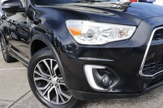 2015 Mitsubishi ASX XB MY15.5 LS 2WD Black 6 Speed Constant Variable Wagon.