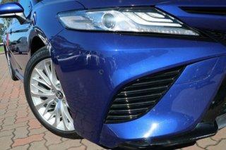 2018 Toyota Camry AXVH71R SL Lunar Blue 6 Speed Constant Variable Sedan Hybrid.