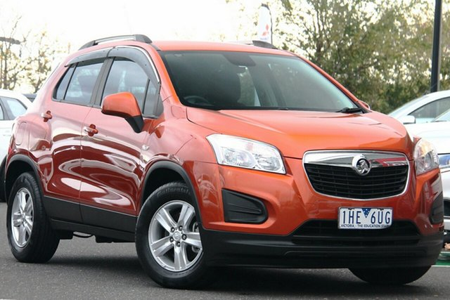 Used Holden Trax TJ MY16 LS Essendon North, 2016 Holden Trax TJ MY16 LS Gold 6 Speed Automatic Wagon
