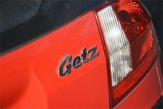 2008 Hyundai Getz TB MY07 S Red 5 Speed Manual Hatchback