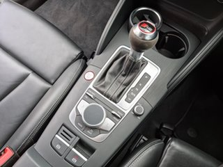 2017 Audi RS 3 8V MY18 S Tronic Quattro Glacier White 7 Speed Sports Automatic Dual Clutch Sedan
