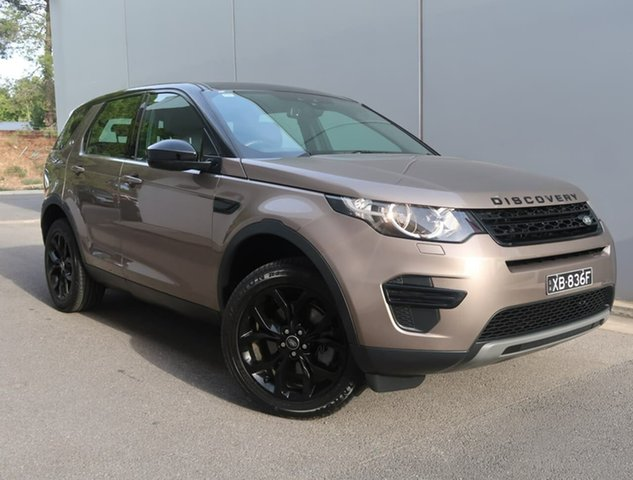 Used Land Rover Discovery Sport L550 17MY HSE Luxury Reynella, 2016 Land Rover Discovery Sport L550 17MY HSE Luxury Brown 9 Speed Sports Automatic Wagon