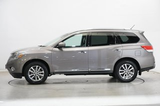 2014 Nissan Pathfinder R52 MY15 ST-L X-tronic 2WD Grey 1 Speed Constant Variable Wagon.