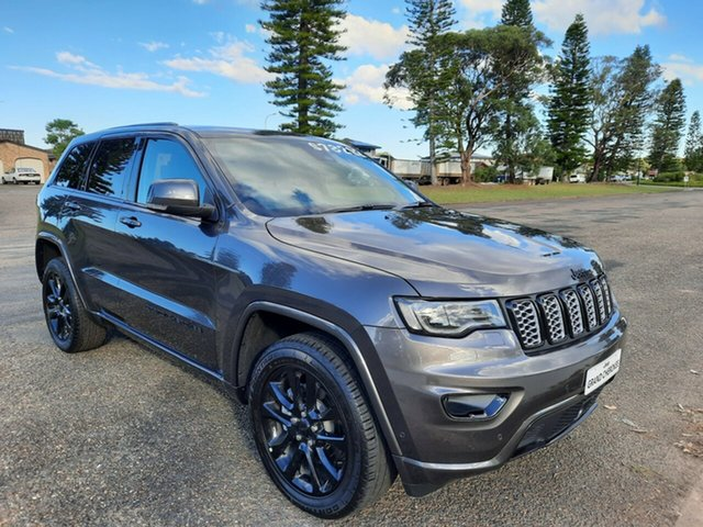 New Jeep Grand Cherokee WK MY21 Night Eagle Port Macquarie, 2021 Jeep Grand Cherokee WK MY21 Night Eagle Granite Crystal 8 Speed Sports Automatic Wagon